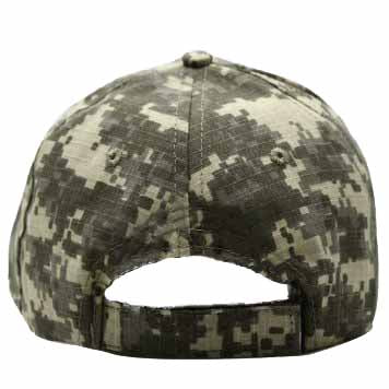 Trump 2020 Keeping America Great 3D Embroidered Adjustable Ball Cap, Camouflage