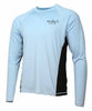 Tormenter Men's SPF-50 Fast Dry Snag Proof Long Sleeve Fishing Shirt