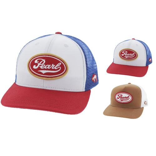 Hooey Mens Pearl Beer Limited Edition Mesh Back Trucker Hat
