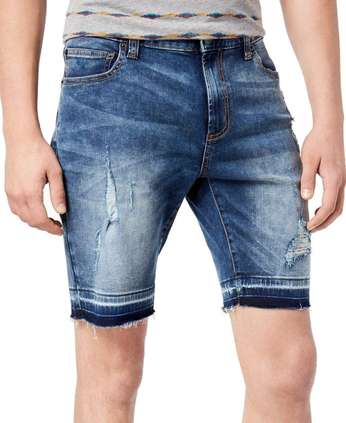 American Rag Mens Distressed Denim Shorts