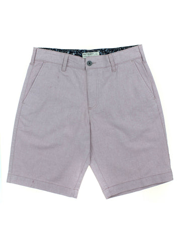 Retrofit Mens Textured Flat Front Shorts