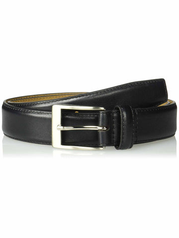 Greg Norman Mens 35mm Padded Genuine Leather Ornamented Belt