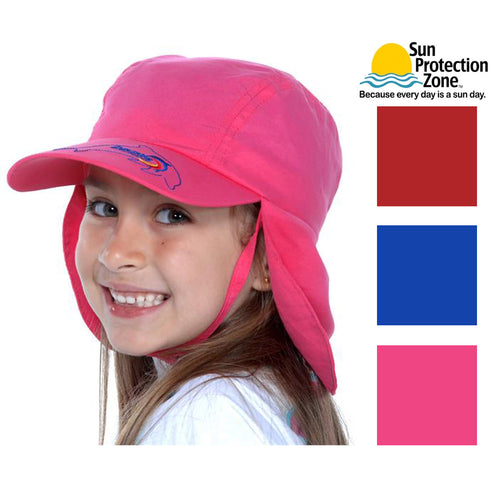 SunKinz Child Unisex Legionnaire Hat UPF 50+