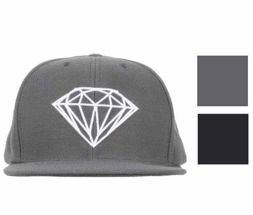 Diamond Supply Co. Brilliant Unconstructed Embroidered Adjustable Cap