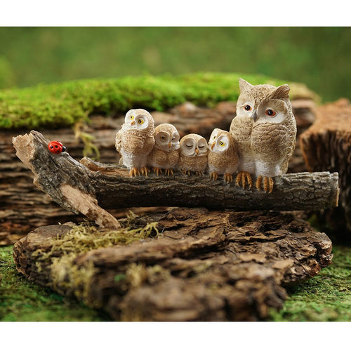Top Collections Miniature Garden Owl Statues