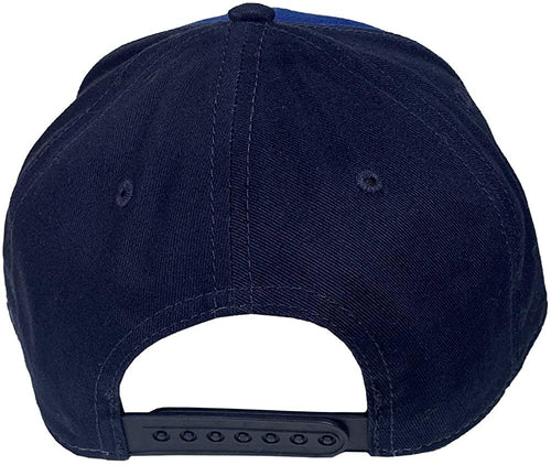 Twisted X Mens Adjustable Snapback Fabric Cap Hat (Blue/Navy)