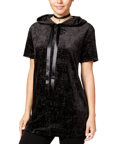 Gypsies & Moondust Juniors' Burnout Velvet Tunic