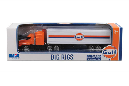 Daron Gulf Oil Tractor Trailer Big Rig Collectible Plastic Toy