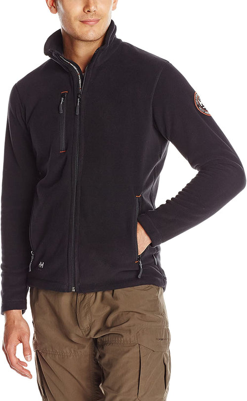 Helly Hansen Workwear Mens Langley Polartech Performance Technolgy Fleece Jacket