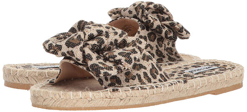 Not Rated Womens Erra Espadrille Slide Sandal