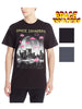 Mens Space Invaders Short Sleeve Graphic T-Shirt