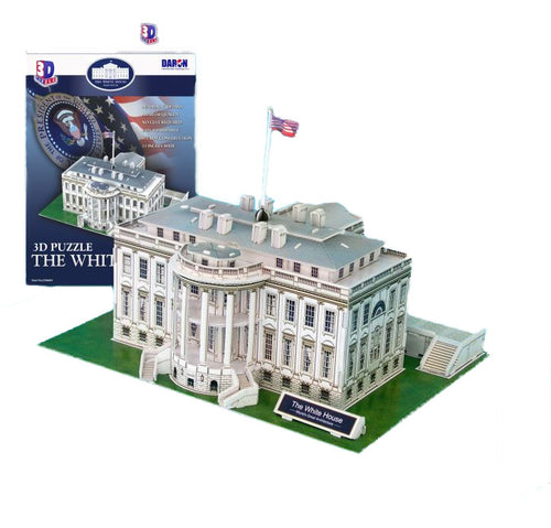 Daron The White House Museum Quality 3D Puzzle, 64 Pieces