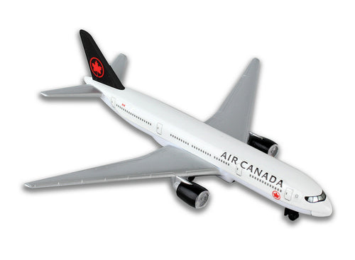 Daron Air Canada Die Cast Metal Collectible Single Plane