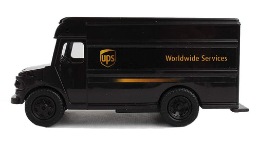Daron UPS Pullback Action Plastic Model Package Truck