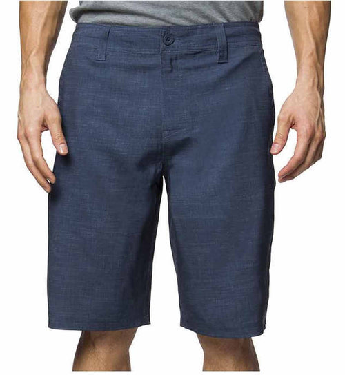 Hang Ten Mens Cruze Hybrid Flat Front Short
