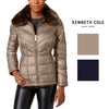 Kenneth Cole Faux-Fur Down Puffer Coat