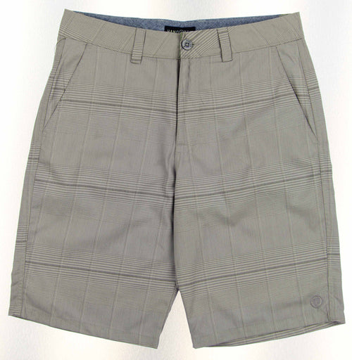 Hang Ten Mens Aspect Flat Front Walking Shorts