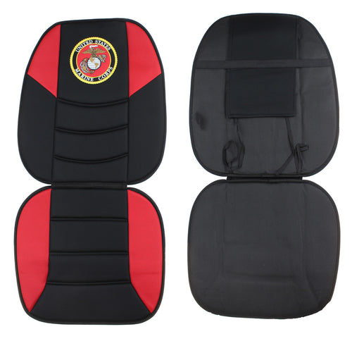 JWM Military Logo One Piece Universal Polyester Cushion Seat Covers