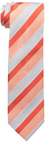 Geoffrey Beene Mens Stripe Of The Moment Tie (Flame Stripe)