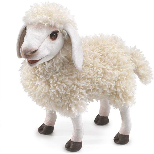 Folkmanis Play Pretend Animal Puppet, Woolly Sheep