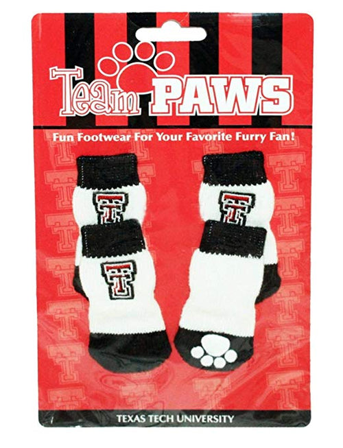 Team Paws NCAA College Team Fan Non-Slip Dog Socks