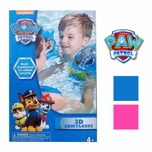 Paw Patrol Childrens Inflatable 3D Arm Floats