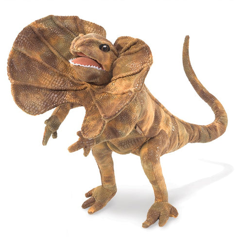 Folkmanis Play Pretend Animal Puppet, Frilled Lizard