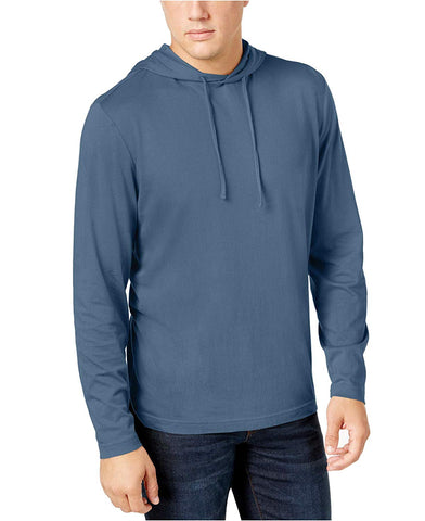 Club Room Mens Jersey Hooded Shirt
