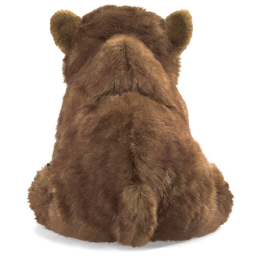 Folkmanis Play Pretend Animal Puppet, Brown Bear Cub