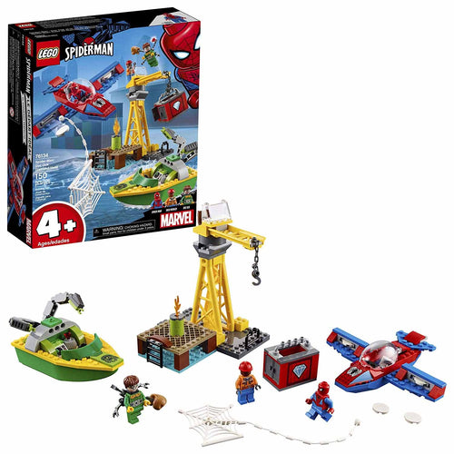 LEGO Marvel Spider-Man: Doc Ock Diamond Heist Building Kit (76134, 150 Pieces)