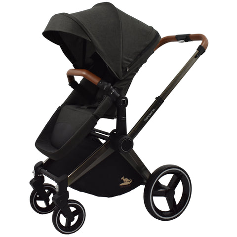 Venice Child Kangaroo Stroller (Black)-Venice Child-Supreme Stroller