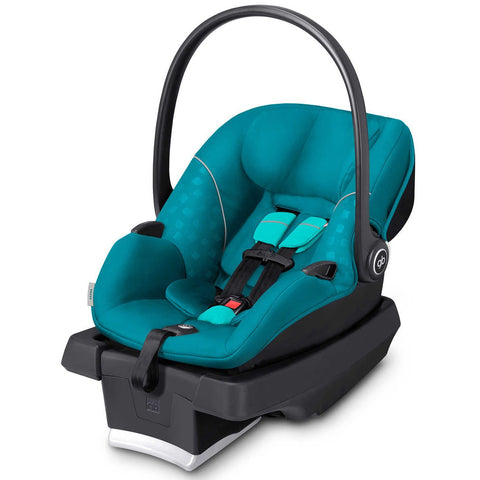 GB Asana Infant Car Seat with Load Leg Base (Capri Blue)-Infant Car Seat-Supreme Stroller