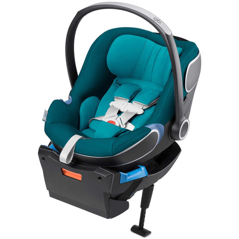 GB Idan Infant Car Seat with Load Leg Base (Capri Blue)-Infant Car Seat-Supreme Stroller