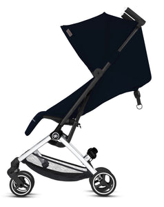 GB Pockit + All City (Velvet Black)-Stroller-Supreme Stroller