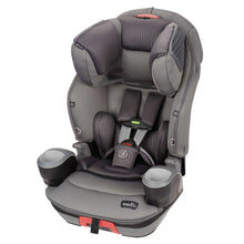 Evenflo® SafeMax™ 3-in-1 Booster Car Seat with SensorSafe Technology (Charcoal Fizz)-Convertible Car Seat-Supreme Stroller