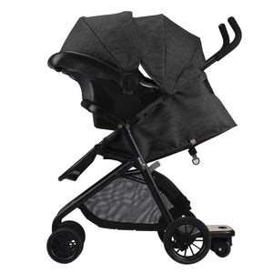 Evenflo Sibby Travel System w/ Litemax ICS (Charcoal)-Travel System-Supreme Stroller