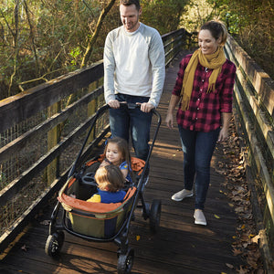 Evenflo Pivot Xplore All-Terrain Double Stroller Wagon (Gypsy)-Stroller Wagon-Supreme Stroller