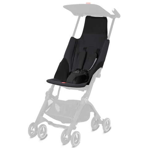 GB Pockit Go Fabric Kit (Satin Black)-Stroller Accessory-Supreme Stroller