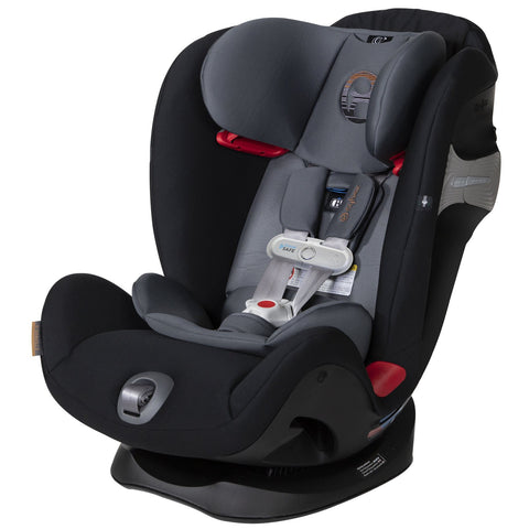 Cybex Eternis S with SensorSafe Infant Car Seat (Pepper Black)-Infant Car Seat-Supreme Stroller
