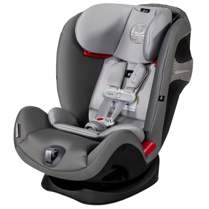 Cybex Eternis S with SensorSafe Infant Car Seat (Manhattan Gray)-Infant Car Seat-Supreme Stroller