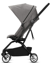 Cybex Eezy S Twist/Aton 2 w/ SensorSafe™ Travel System (Manhattan Grey Denim)-Travel System-Supreme Stroller