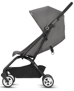 Cybex Eezy S Twist/Aton 2 w/ SensorSafe™ Travel System (Lavastone Black Denim)-Travel System-Supreme Stroller
