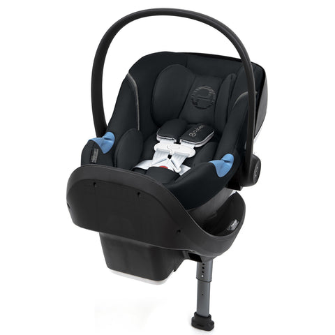 Cybex Aton M Infant Car Seat and SafeLock™ Base (Lavastone Black)-Infant Car Seat-Supreme Stroller