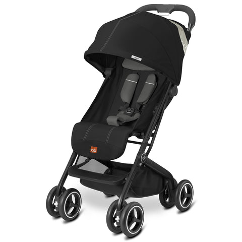 GB QBit Plus (Monument Black)-GB-Supreme Stroller