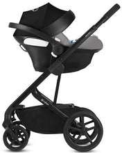 Cybex Balios S/Aton M with SensorSafe™ Travel System (Manhattan Grey Denim)-Travel System-Supreme Stroller