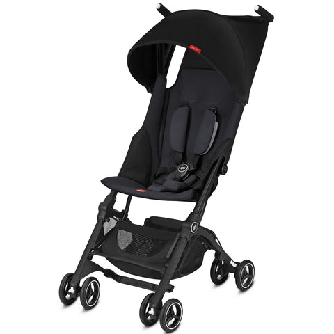 GB Pockit Plus (Satin Black)-Stroller-Supreme Stroller