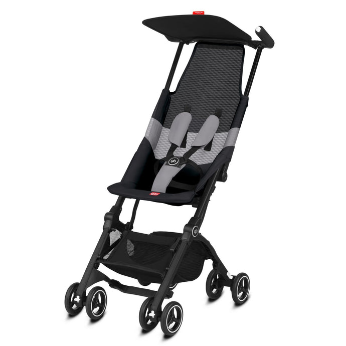 GB Pockit Air All Terrain (Velvet Black)-Stroller-Supreme Stroller