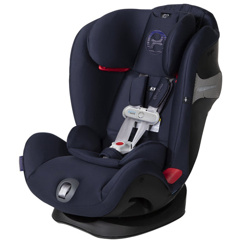 Cybex Eternis S with SensorSafe Infant Car Seat (Denim Blue)-Infant Car Seat-Supreme Stroller