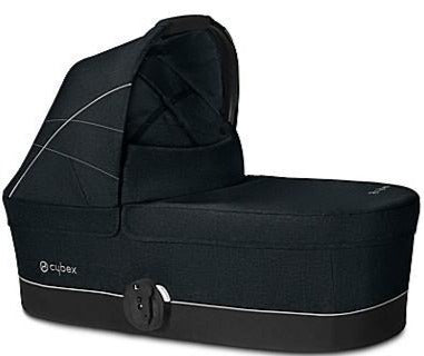 Cybex Carry Cot S (Lavastone Black)-Carrycot-Supreme Stroller