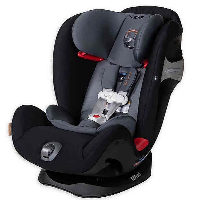 Cybex Eternis S All-in-One Infant Car Seat (Pepper Black)-Infant Car Seat-Supreme Stroller